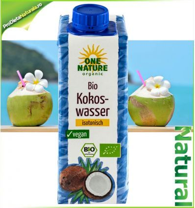 Apa de COCOS 100% Bio 250ml OneNature
