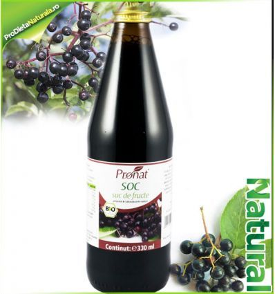 Fructe de SOC Suc 100% Natural Bio 330ml